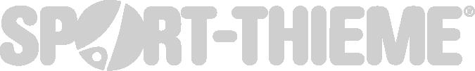 Logo von Sport Thieme grau eingefärbt mit transparentem Hintergrund